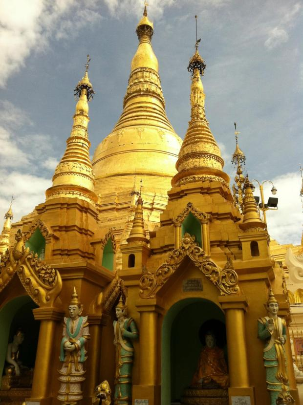 Schwedagon The Golden Temple