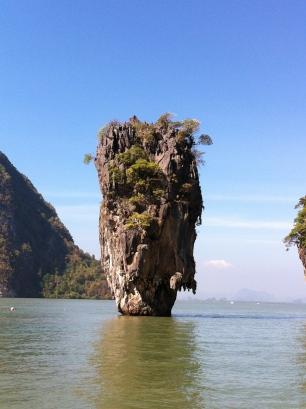 at Jame Bond Island, Phuket, Thailand