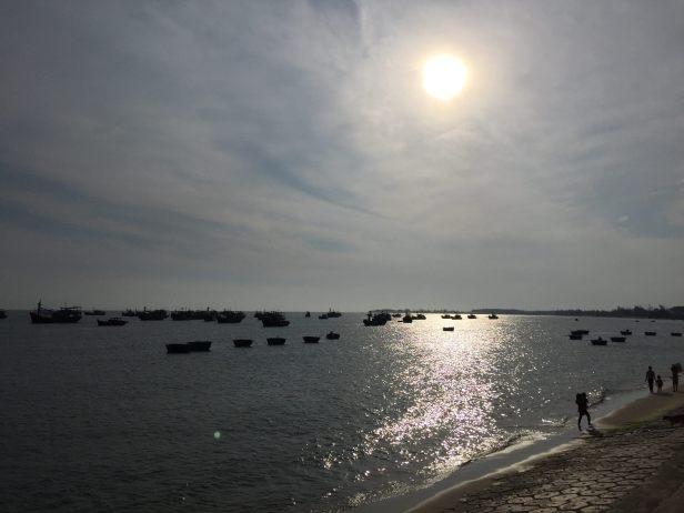 Ke Ga beach in noon