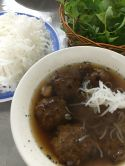 .. had our breakfast, Bun Cha Ha Giang ..