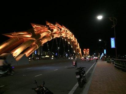 The Dragon bridge at Danang