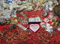 jewelry and silverware sold at Sapa market
