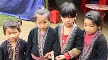 ethnic kids at the wedding