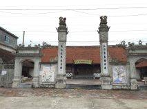 a temple at Bat Trang village