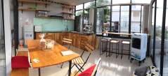 nice kitchen at O.M.E hostel