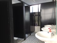 clean washrooms at O.M.E hostel